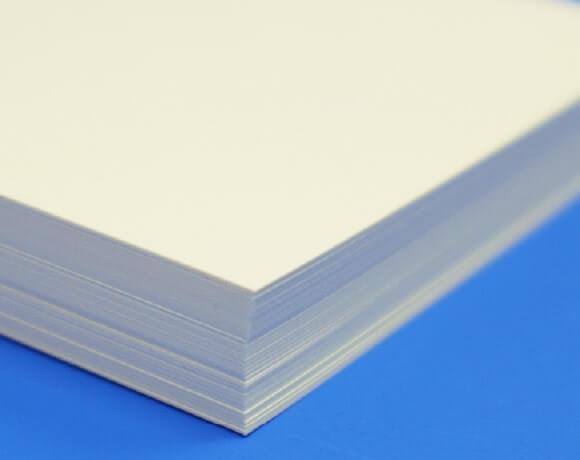 インクジェット対応紙(クリーム)の厚み
