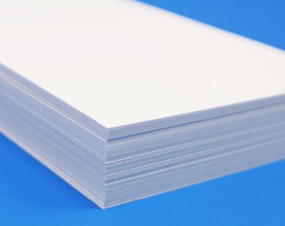 インクジェット対応紙(白)の厚み